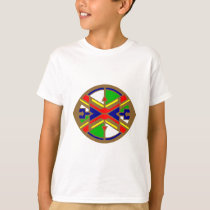 Sample Indian pattern native American T-Shirt