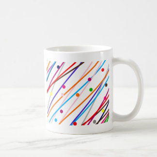 Sample lines of circles pattern LINEs of circles Coffee Mugs