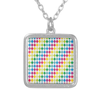 Sample lozenges pattern dia moon necklaces