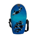 Sample Marine Mammal Bag Courier Bag