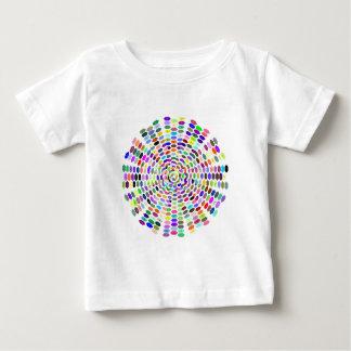 Sample of hexagons pattern hexagon baby T-Shirt