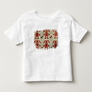 Sample of Lambayeque fabric with a figure Toddler T-shirt