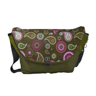 Sample Paisley pattern Messenger Bag
