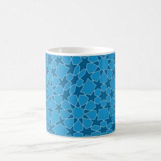 Sample parqueting pattern tesselation coffee mug