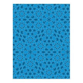Sample parqueting pattern tesselation post cards