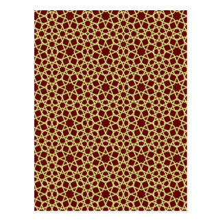 Sample parqueting pattern tesselation postcards