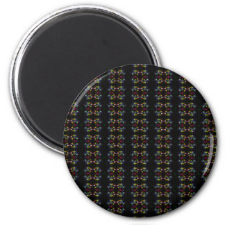 Sample pattern multicolored blisters colorful bubb magnet