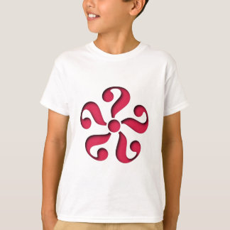 Sample question mark pattern question marks T-Shirt