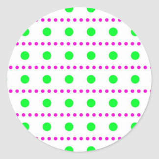 sample scores polka dots spots dabs more tupfer classic round sticker