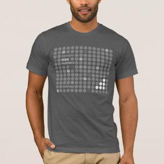 Sample Size Matters - Estimize T-Shirt