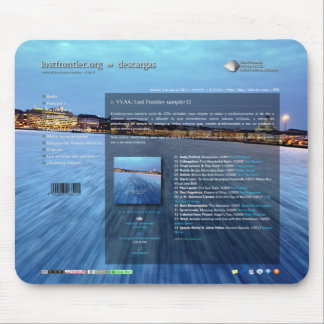 Sampler 12 mouse pad