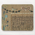 Sampler by N.Ford, 1799, New Hampshire Mouse Pad