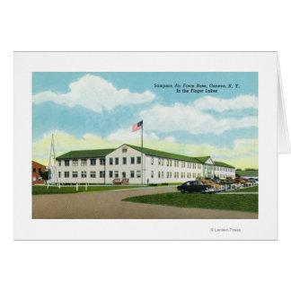 Sampson Air Force Base Building Card
