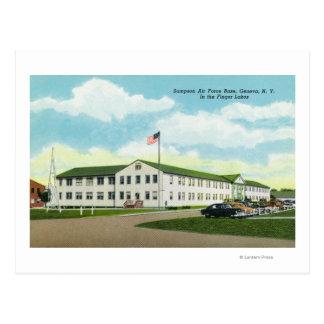 Sampson Air Force Base Building Postcard