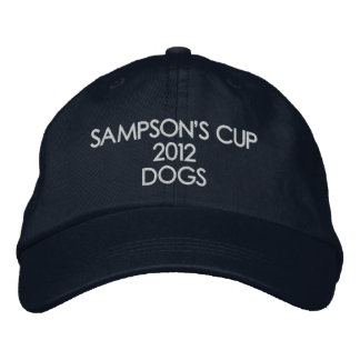 SAMPSON'S CUP 2012 DOGS EMBROIDERED BASEBALL CAP