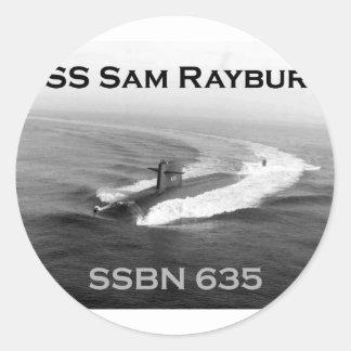 SamRayburn1.png Pegatina Redonda