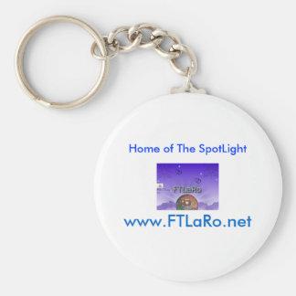 Sams Final My Copyright-2, www.FTLaRo.net, Home... Basic Round Button Keychain