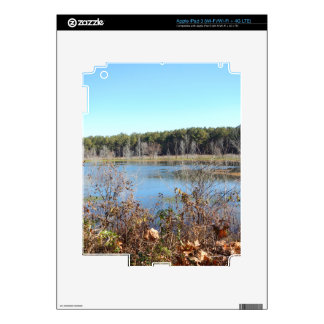 Sams Lake Bird Sanctuary Decals For iPad 3