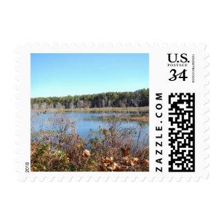Sams Lake Bird Sanctuary Postcard Postage