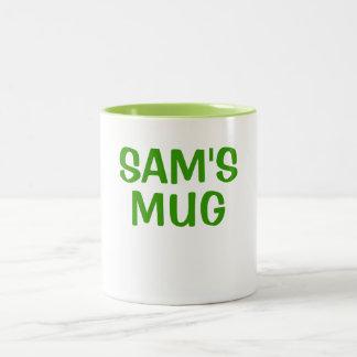 SAM'S MUG