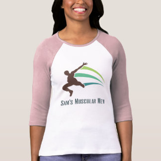 Sam's Muscular Men - Run for Sam T Shirt