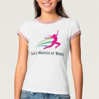 Sam's Muscular Women - Run for Sam T-shirt