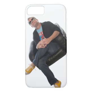 Sam's On The Phone Case-Mate iPhone Case