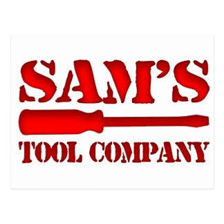 Sam's Tool Company Postcard