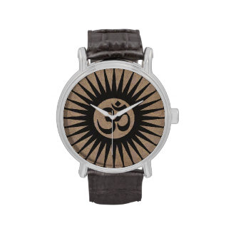 Samsara Awakening Watch with Brown Wristband