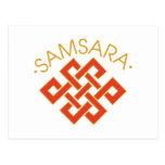 Samsara Postcard