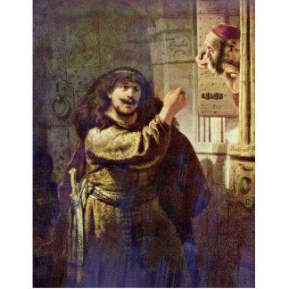 Samson amenazó a su padre - por Rembrandt Harmen Esculturas Fotograficas