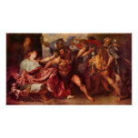 Samson and Delilah by Antoon van Dyck Print
