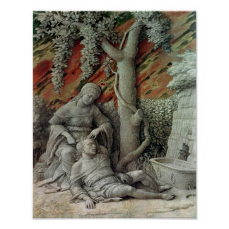 Samson and Delilah, c.1500 Poster