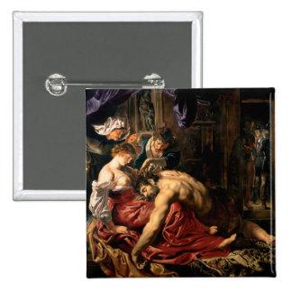 Samson and Delilah, c.1609 Button