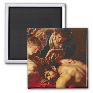 Samson and Delilah, c.1609 Magnet