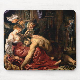 Samson and Delilah, c.1609 Mouse Pad