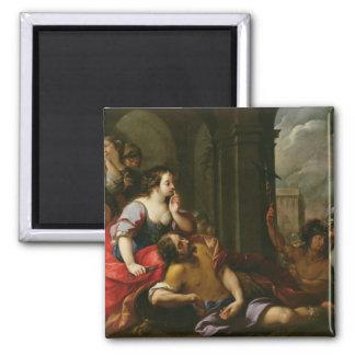 Samson and Delilah Magnet