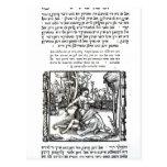 Samson and Delilah Postcard