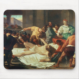 Samson betrayed by Delilah oil on canvas Mousepad
