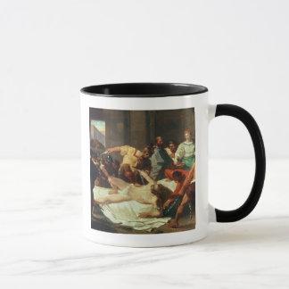 Samson betrayed by Delilah (oil on canvas) Mug
