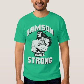 Samson fuerte - Bodybuilding Playera