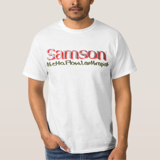 Samson Ghetto.Flow.Lanthropist Playeras
