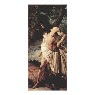 Samson mata el león de Francesco Hayez Plantillas De Lonas