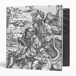 Samson slaying the lion, c.1496-98 binder