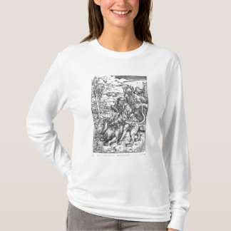 Samson slaying the lion, c.1496-98 T-Shirt