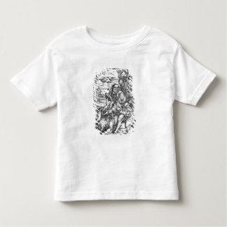 Samson slaying the lion, c.1496-98 toddler t-shirt