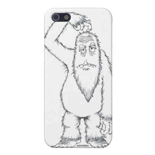 Samson Weird-Beard Goon iPhone 5 Cases