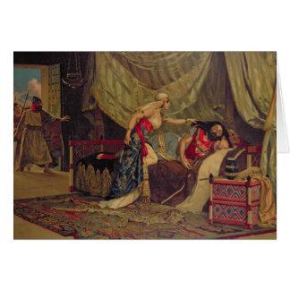 Samson y Delilah 2 Tarjeta De Felicitación