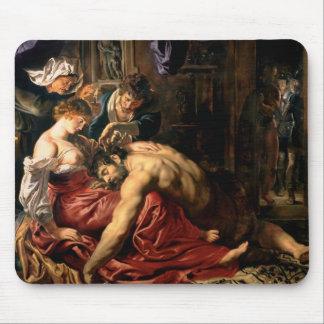Samson y Delilah, c.1609 Tapete De Raton
