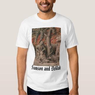 Samson y Delilah Camisas